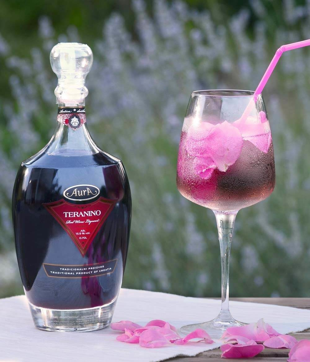 Teranino Rose - Glas Aura Delikatessen
