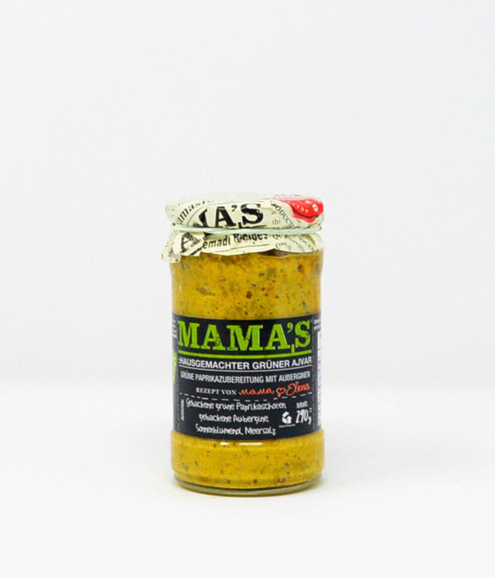 Ajvar Mama's Mild Grün