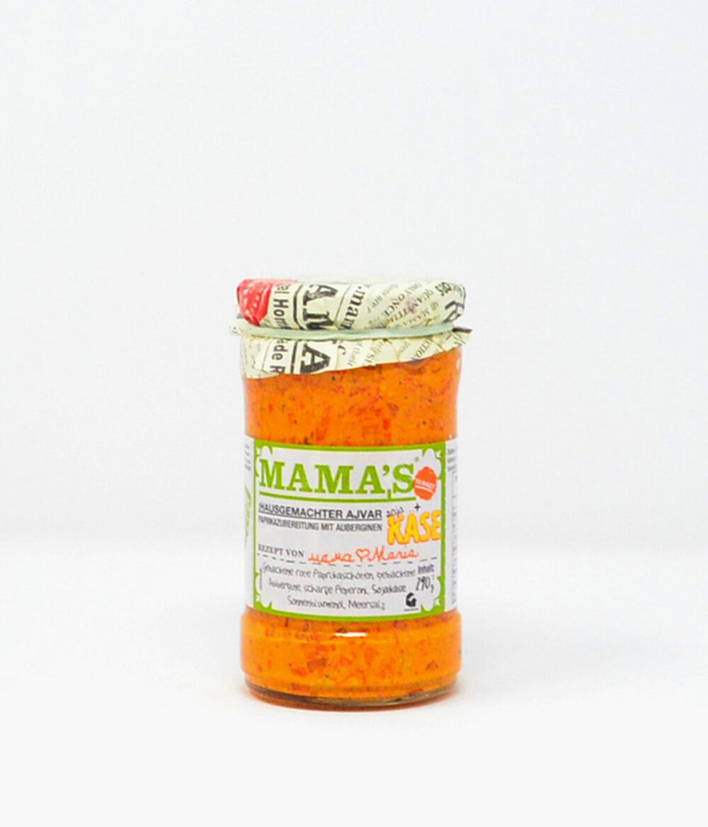 Ajvar Mama's mit Käse