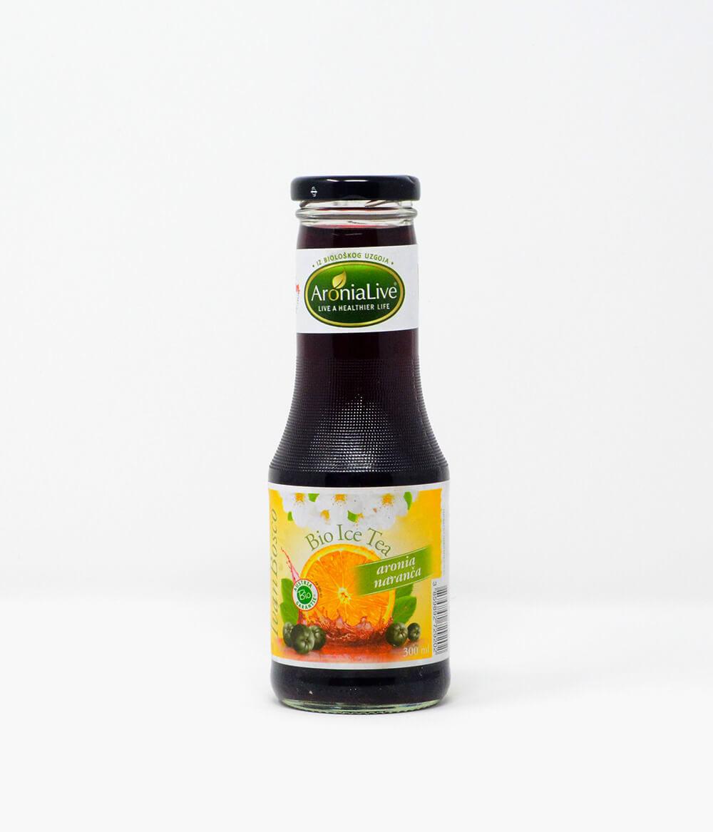 Aronia Bio Eistee Orange