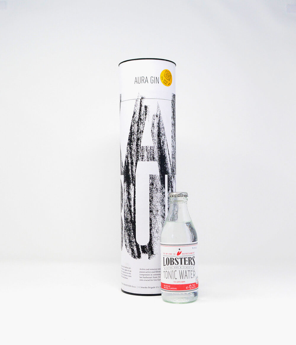 Aura Gin Karbun mit Tonic Water