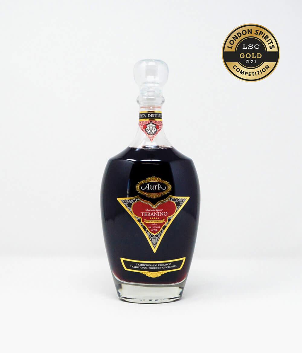 Aura Teranino Rotweinlikör Kroatien Cocktail Rose Istrien (1)