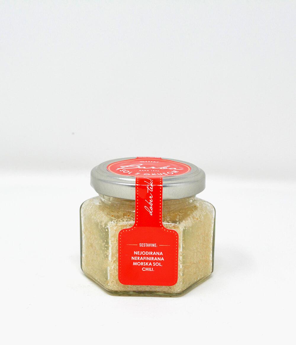 Barba Salz mit Chili Aura Food Lifestyle Delikatessen