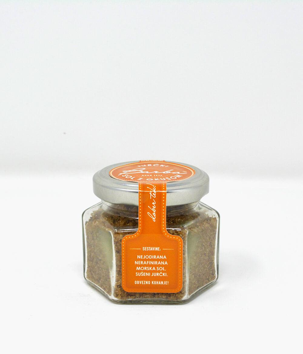 Barba Salz mit Steinpilz Jurcki Aura Food Lifestyle Delikatessen