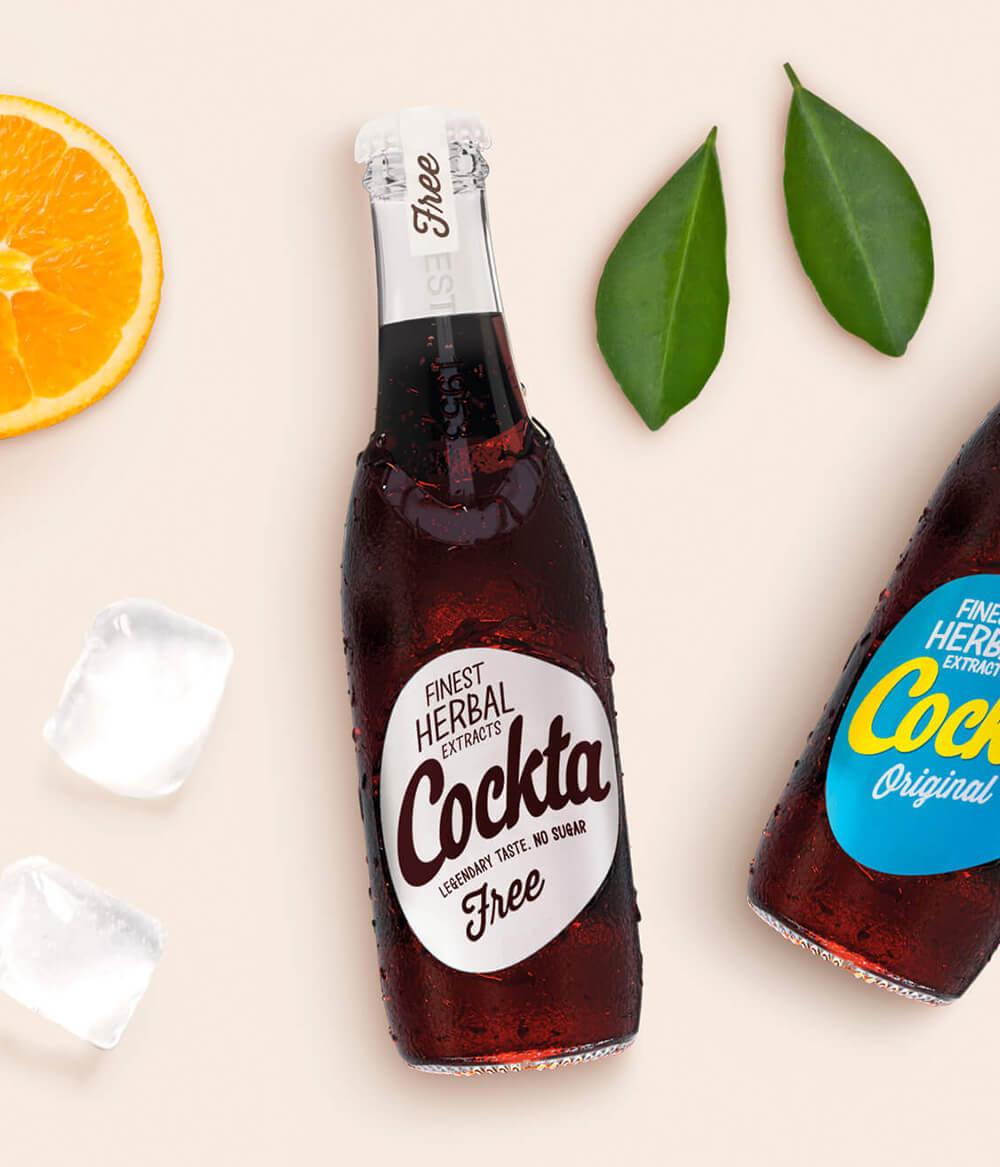 Cockta Free Zuckerfrei - Cola Softdrink Aura (2)