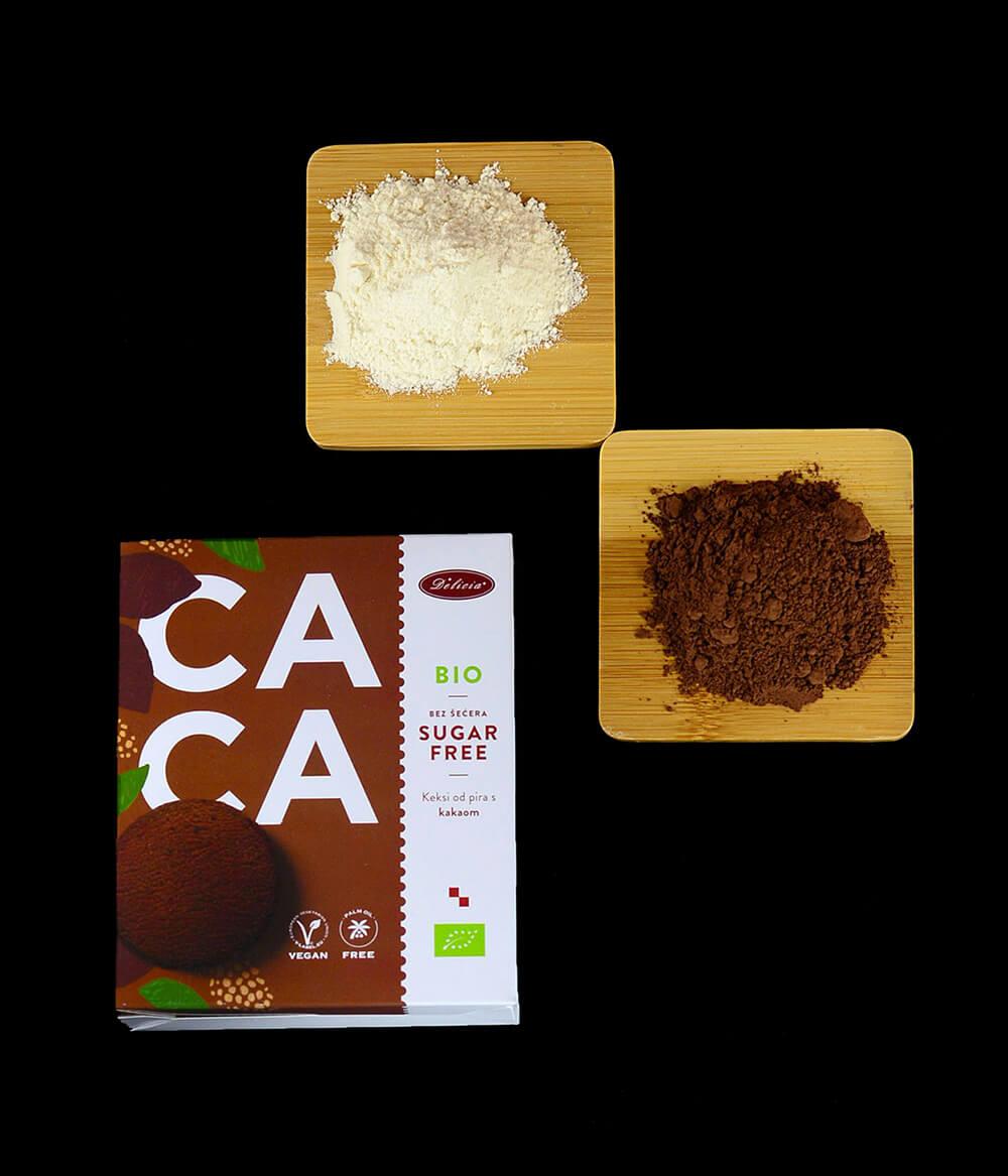 Delicija Zuckerfreie Bio Kekse Kakao Aura (3)