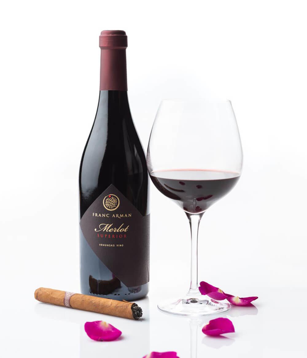 Franc Arman Merlot Superior Rotwein