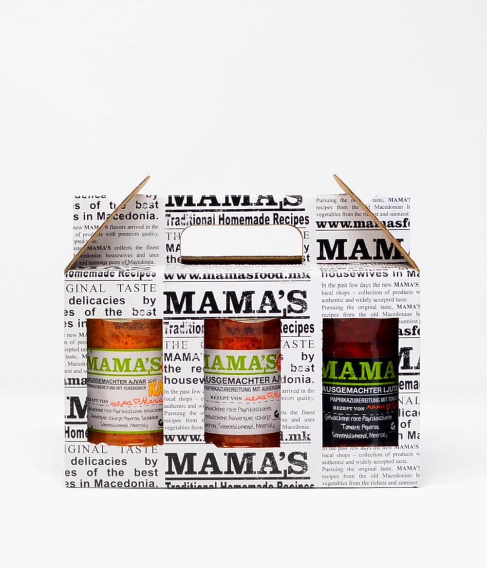 Mama's Geschenkset Ajvar