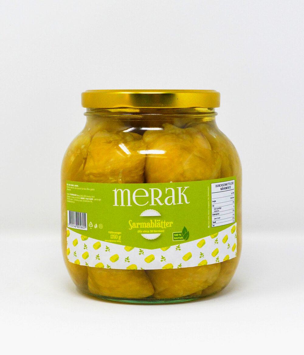 Merak Sauerkrautblätter Aura Delikatessen