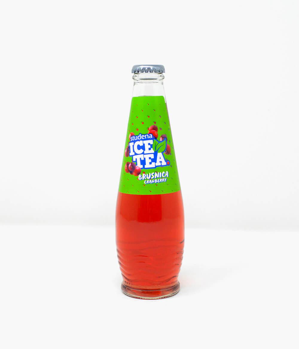 Studena Eistee Ice Tea Brusnica Cranberry Aura Delikatessen (1)